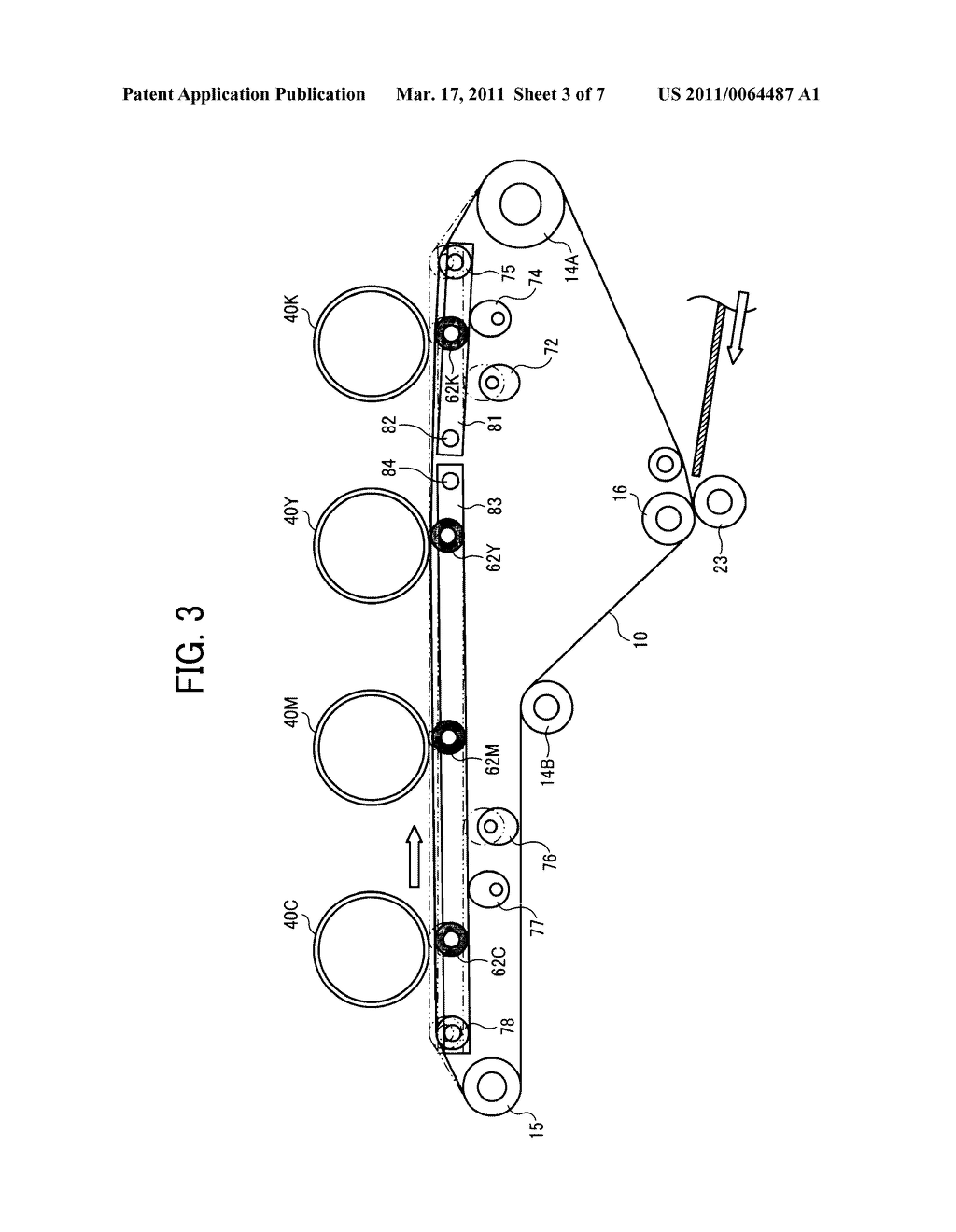 TRANSFER DEVICE AND IMAGE FORMING APPARATUS USING SAME - diagram, schematic, and image 04