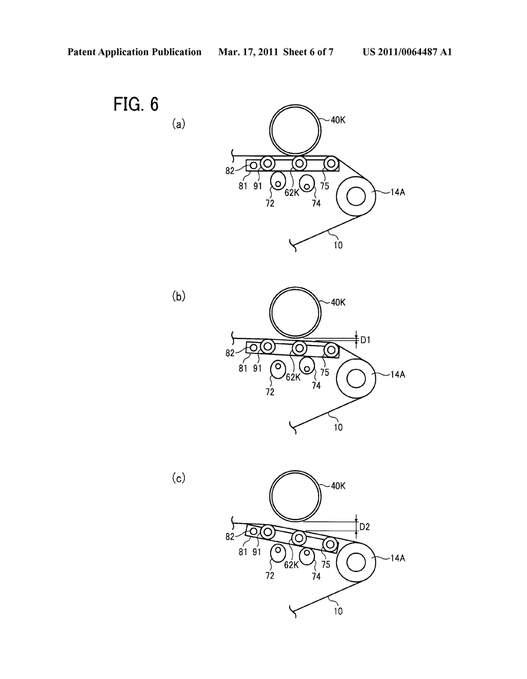 TRANSFER DEVICE AND IMAGE FORMING APPARATUS USING SAME - diagram, schematic, and image 07