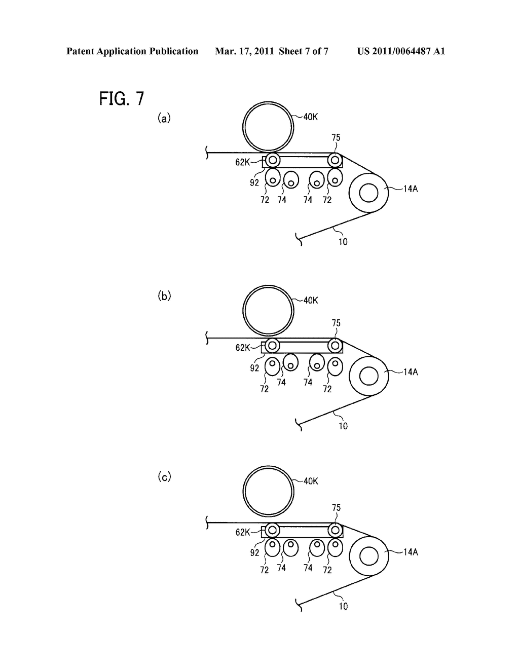 TRANSFER DEVICE AND IMAGE FORMING APPARATUS USING SAME - diagram, schematic, and image 08