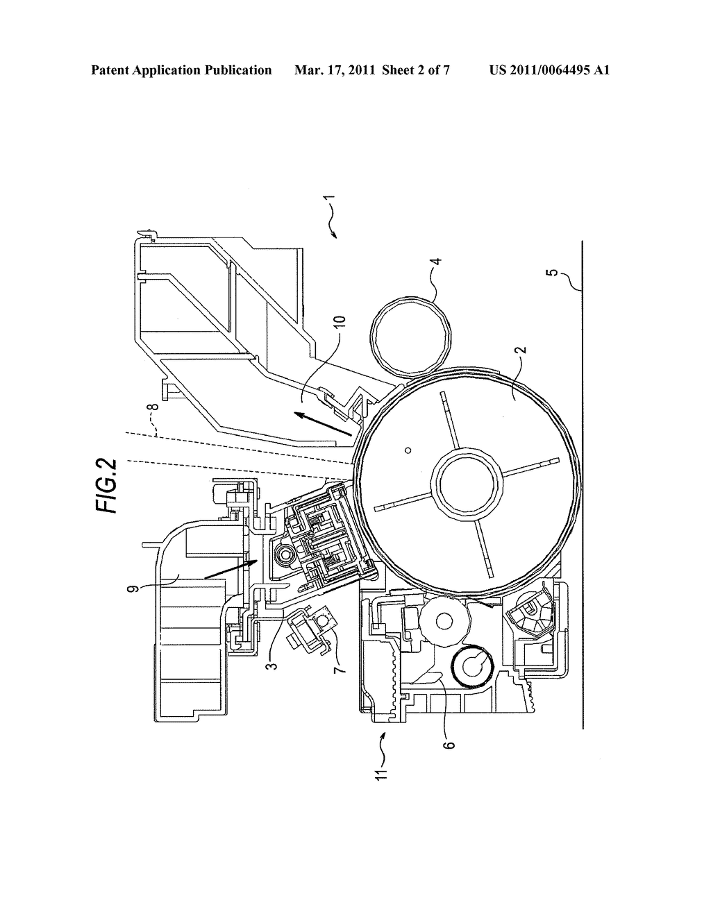 CLEANING DEVICE, IMAGE FORMING UNIT, AND IMAGE FORMING APPARATUS - diagram, schematic, and image 03