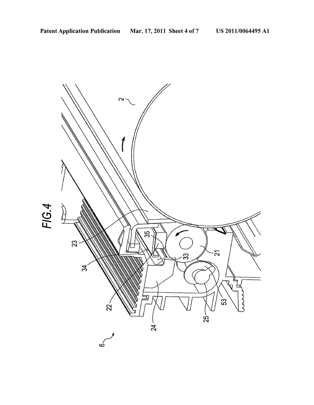 CLEANING DEVICE, IMAGE FORMING UNIT, AND IMAGE FORMING APPARATUS - diagram, schematic, and image 05