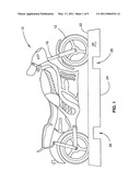 MOTORCYCLE TRANSPORTATION RESTRAINT SYSTEM diagram and image