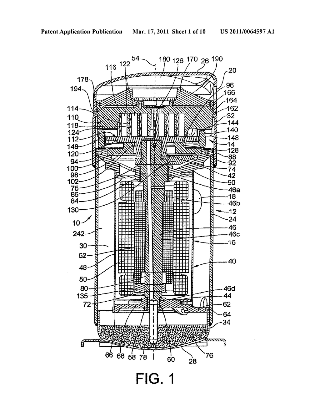 Optimized Discharge Port for Scroll Compressor with Tip Seals - diagram, schematic, and image 02