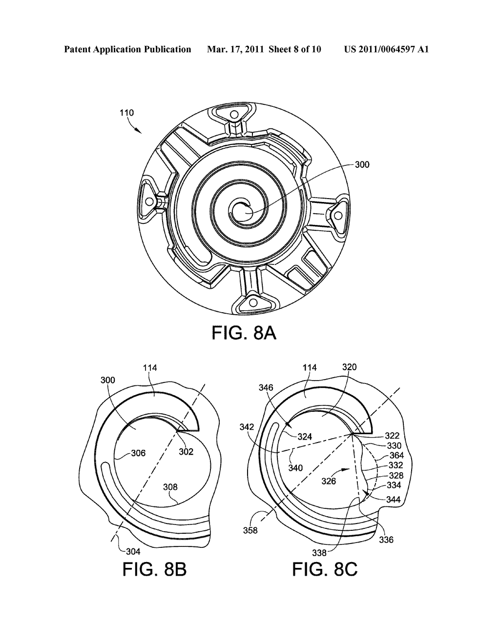 Optimized Discharge Port for Scroll Compressor with Tip Seals - diagram, schematic, and image 09