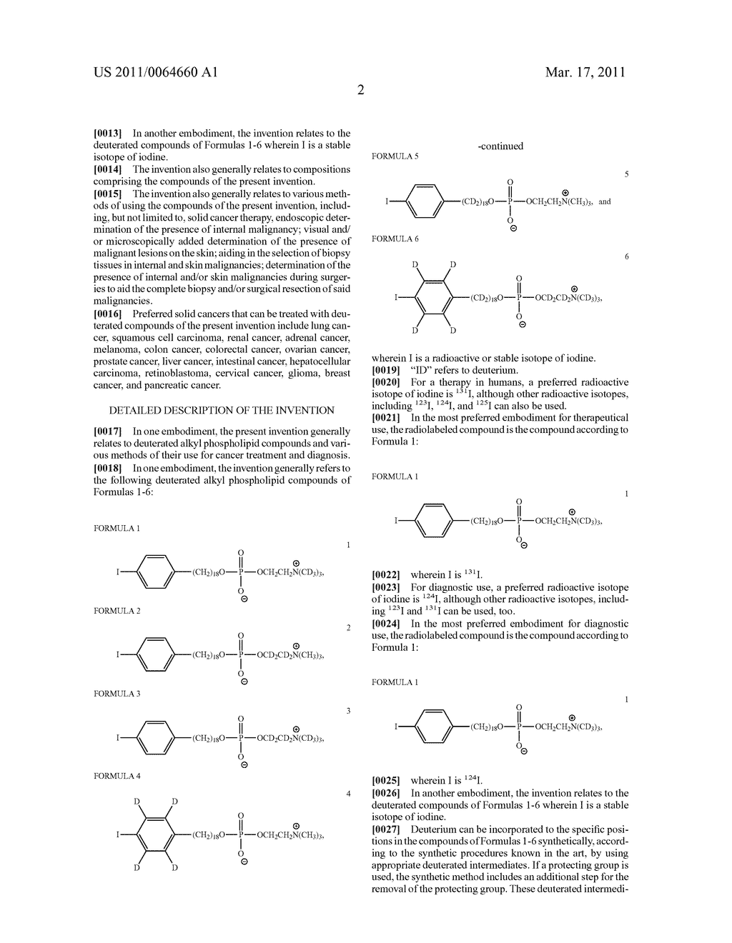 DEUTERATED ALKYL PHOSPHOLIPID COMPOUNDS, COMPOSITIONS, AND METHODS OF USE - diagram, schematic, and image 03