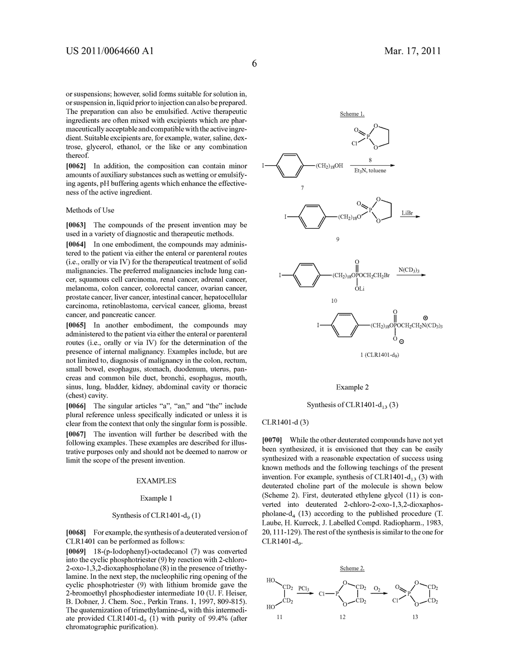 DEUTERATED ALKYL PHOSPHOLIPID COMPOUNDS, COMPOSITIONS, AND METHODS OF USE - diagram, schematic, and image 07