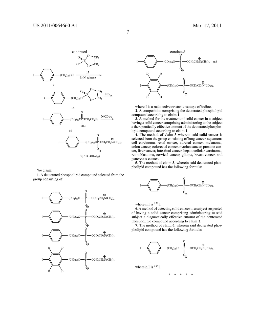 DEUTERATED ALKYL PHOSPHOLIPID COMPOUNDS, COMPOSITIONS, AND METHODS OF USE - diagram, schematic, and image 08