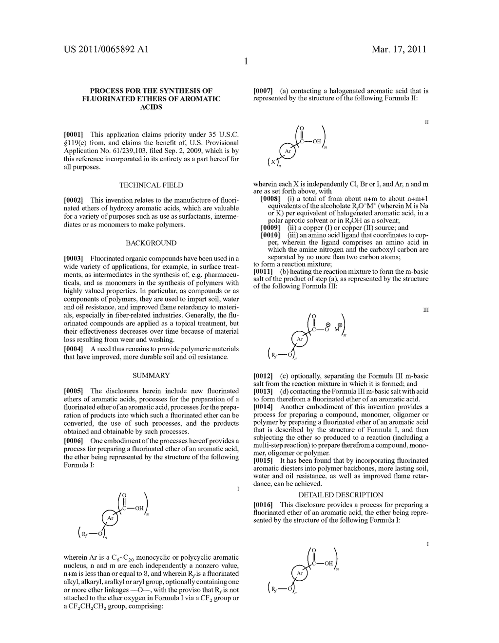 PROCESS FOR THE SYNTHESIS OF FLUORINATED ETHERS OF AROMATIC ACIDS - diagram, schematic, and image 02