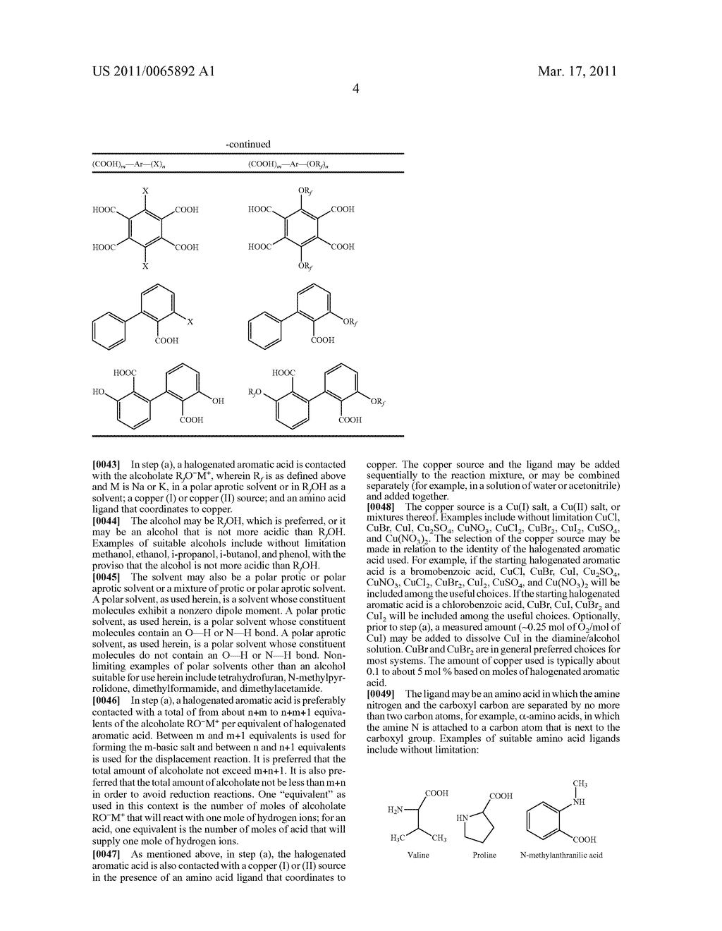 PROCESS FOR THE SYNTHESIS OF FLUORINATED ETHERS OF AROMATIC ACIDS - diagram, schematic, and image 05