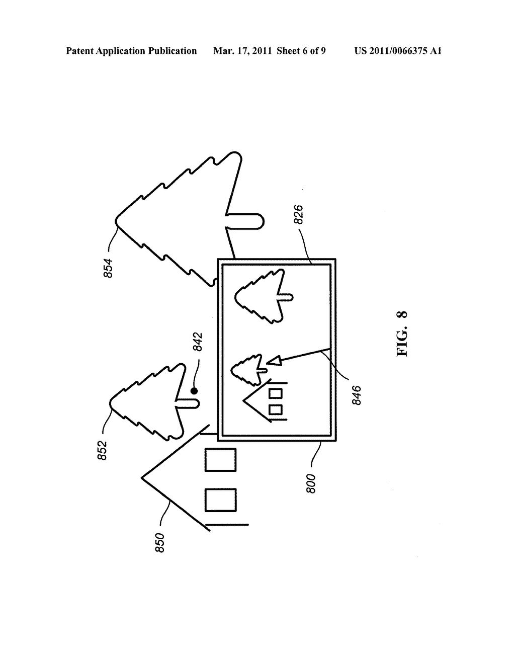 METHODS AND APPARATUS FOR PROVIDING NAVIGATIONAL INFORMATION ASSOCIATED WITH LOCATIONS OF OBJECTS - diagram, schematic, and image 07