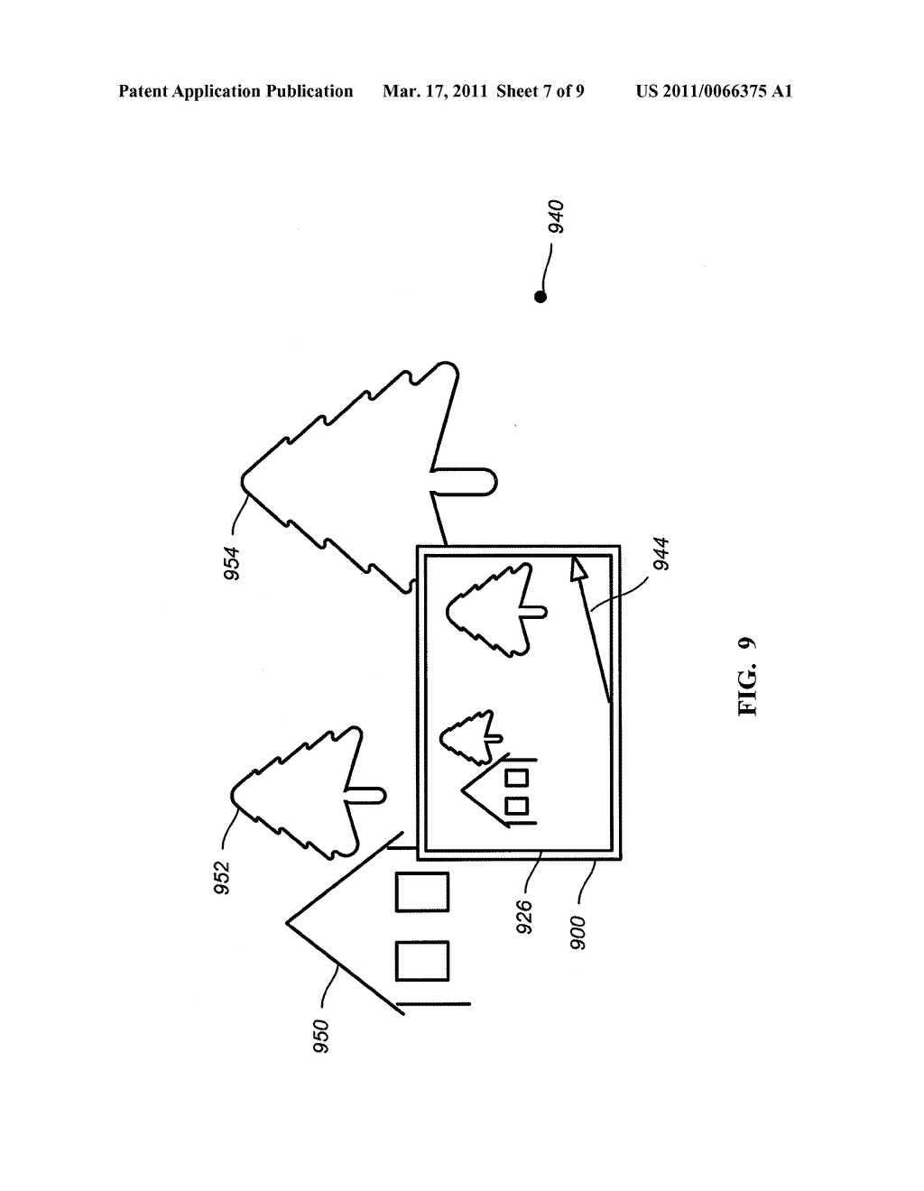 METHODS AND APPARATUS FOR PROVIDING NAVIGATIONAL INFORMATION ASSOCIATED WITH LOCATIONS OF OBJECTS - diagram, schematic, and image 08