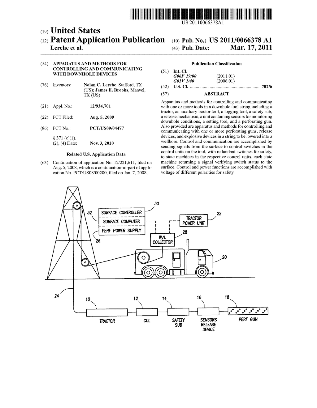 Apparatus and Methods for Controlling and Communicating with Downhole Devices - diagram, schematic, and image 01