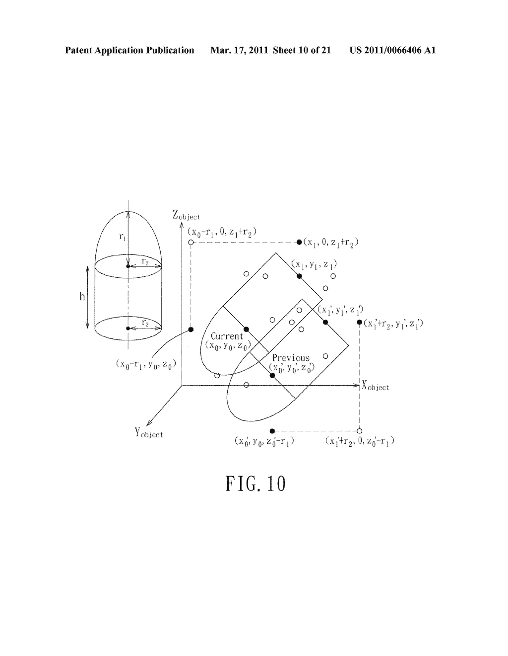 Method for Generating Real-Time Haptic Response Information for a Haptic Simulating Device - diagram, schematic, and image 11