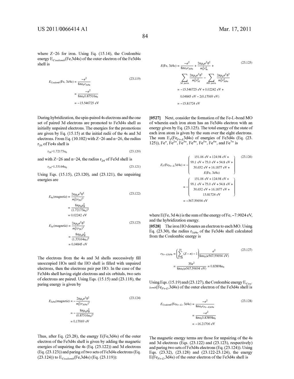 System and Method of Computing and Rendering the Nature of Molecules,Molecular Ions, Compounds and Materials - diagram, schematic, and image 114