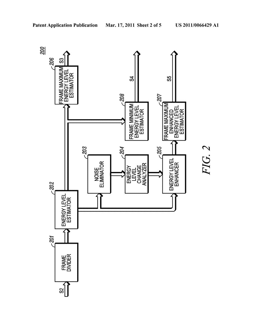 VOICE ACTIVITY DETECTOR AND A METHOD OF OPERATION - diagram, schematic, and image 03