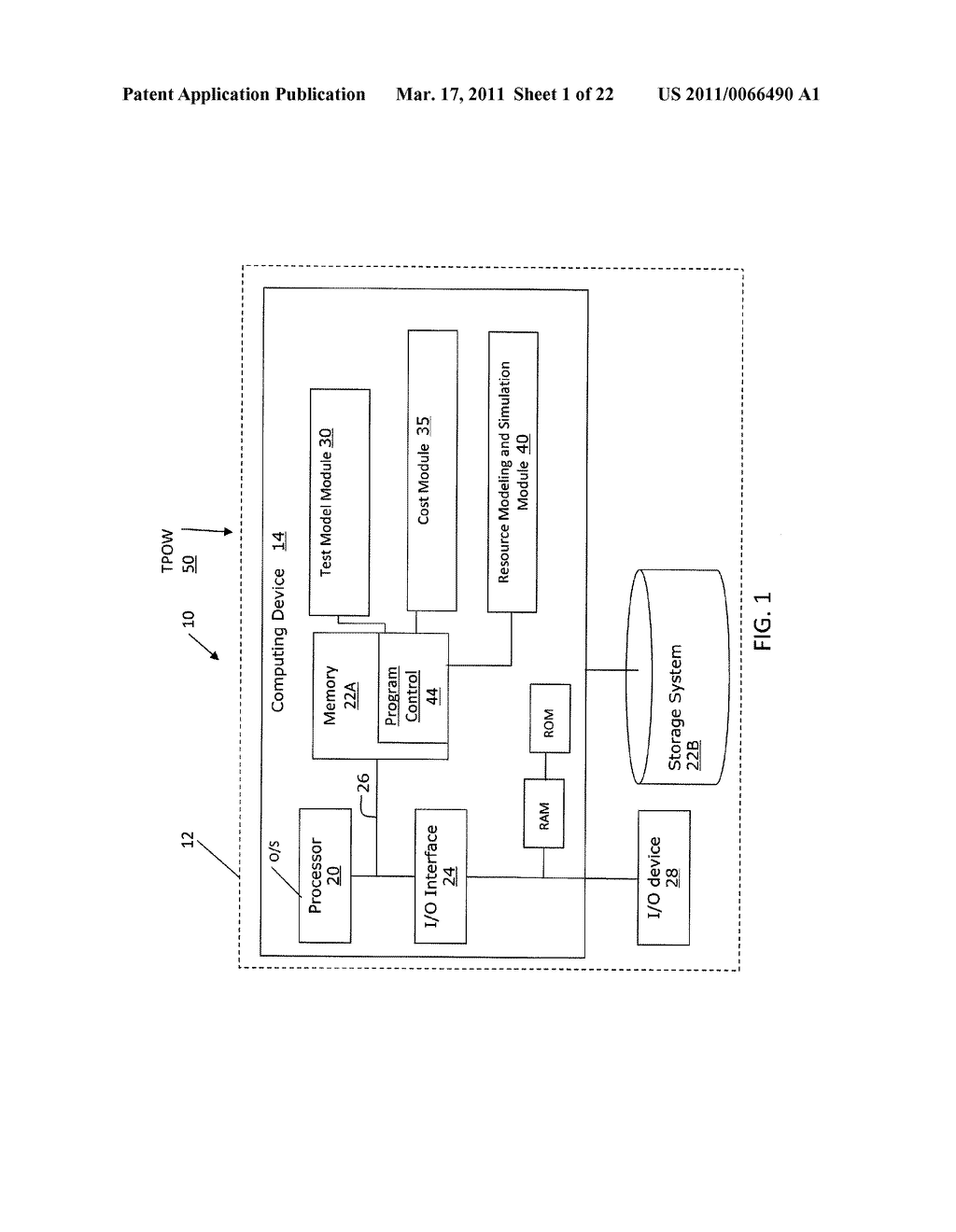 SYSTEM AND METHOD FOR RESOURCE MODELING AND SIMULATION IN TEST PLANNING - diagram, schematic, and image 02