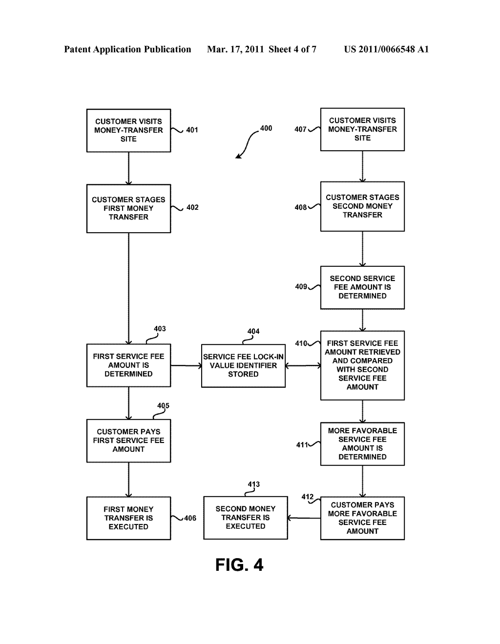 METHODS AND SYSTEMS FOR EXECUTING A PLURALITY OF MONEY TRANSFERS HAVING A FLUCTUATING PARAMETER - diagram, schematic, and image 05