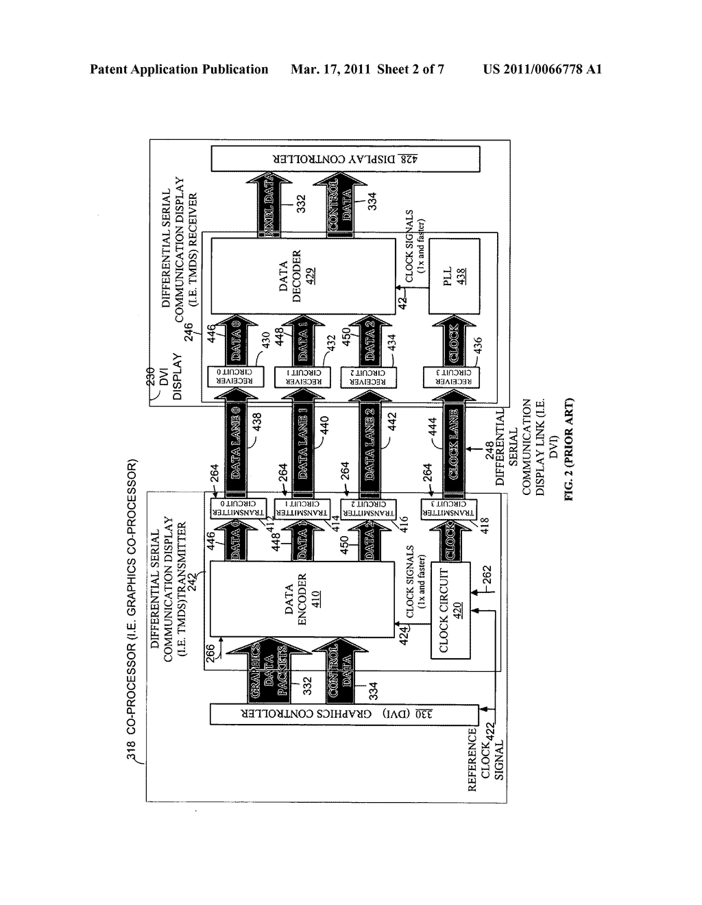 METHOD AND APPARATUS FOR TRANSPORTING AND INTEROPERATING TRANSITION MINIMIZED DIFFERENTIAL SIGNALING OVER DIFFERENTIAL SERIAL COMMUNICATION TRANSMITTERS - diagram, schematic, and image 03