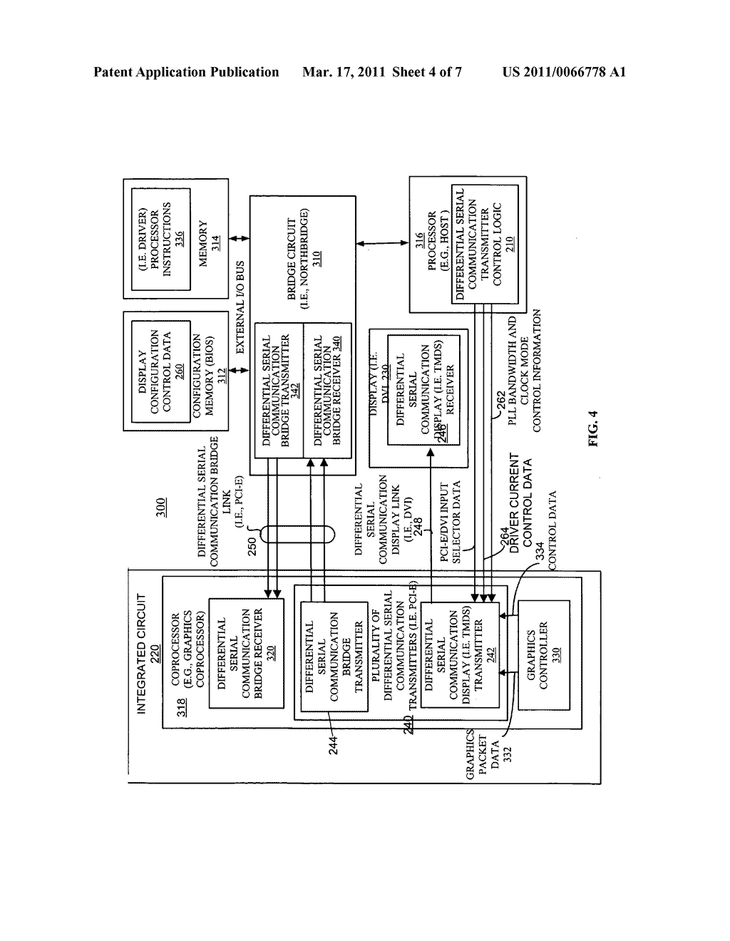 METHOD AND APPARATUS FOR TRANSPORTING AND INTEROPERATING TRANSITION MINIMIZED DIFFERENTIAL SIGNALING OVER DIFFERENTIAL SERIAL COMMUNICATION TRANSMITTERS - diagram, schematic, and image 05