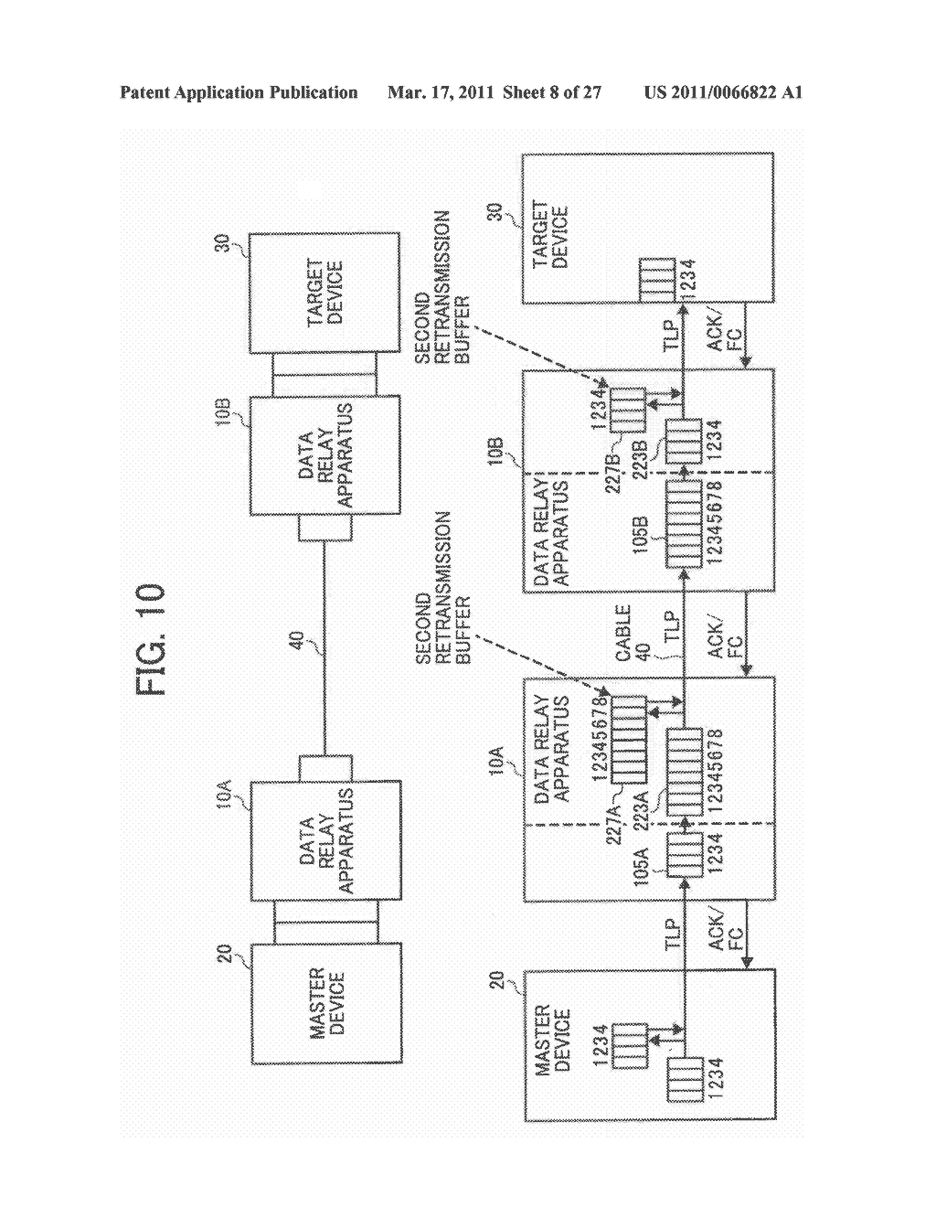 DATA TRANSFER APPARATUS, DATA TRANSFER DEVICE, AND DATA TRANSFER METHOD IN A DATA TRANSFER DEVICE - diagram, schematic, and image 09