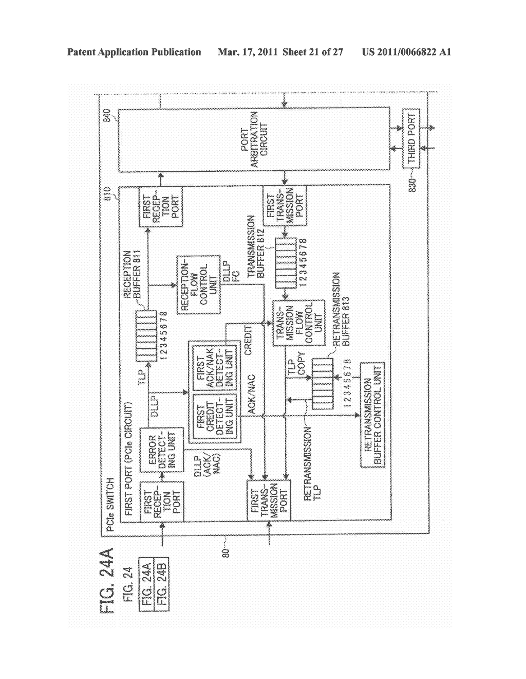 DATA TRANSFER APPARATUS, DATA TRANSFER DEVICE, AND DATA TRANSFER METHOD IN A DATA TRANSFER DEVICE - diagram, schematic, and image 22