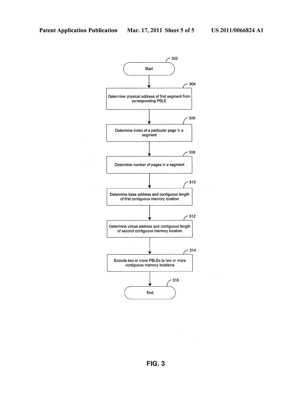 Method and System for Combining Page Buffer List Entries to Optimize Caching of Translated Addresses - diagram, schematic, and image 06