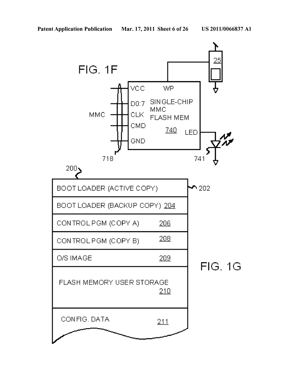 Single-Chip Flash Device with Boot Code Transfer Capability - diagram, schematic, and image 08