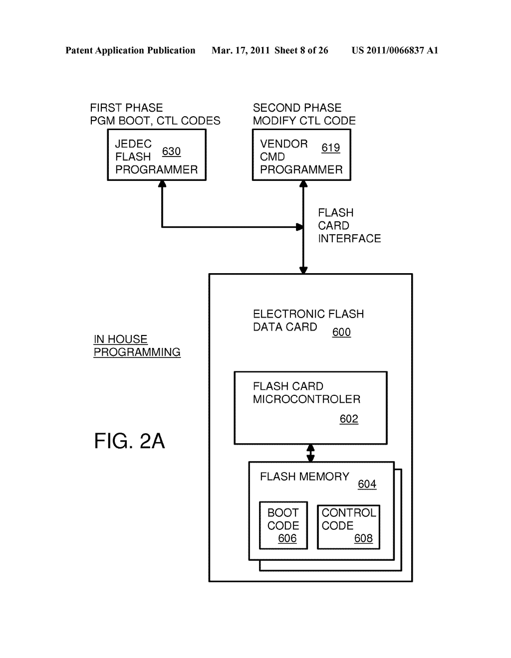 Single-Chip Flash Device with Boot Code Transfer Capability - diagram, schematic, and image 10