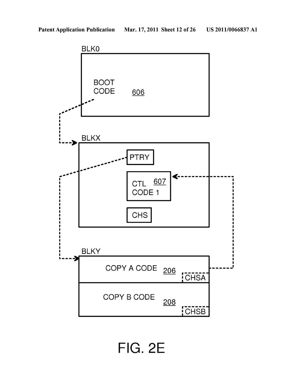 Single-Chip Flash Device with Boot Code Transfer Capability - diagram, schematic, and image 14