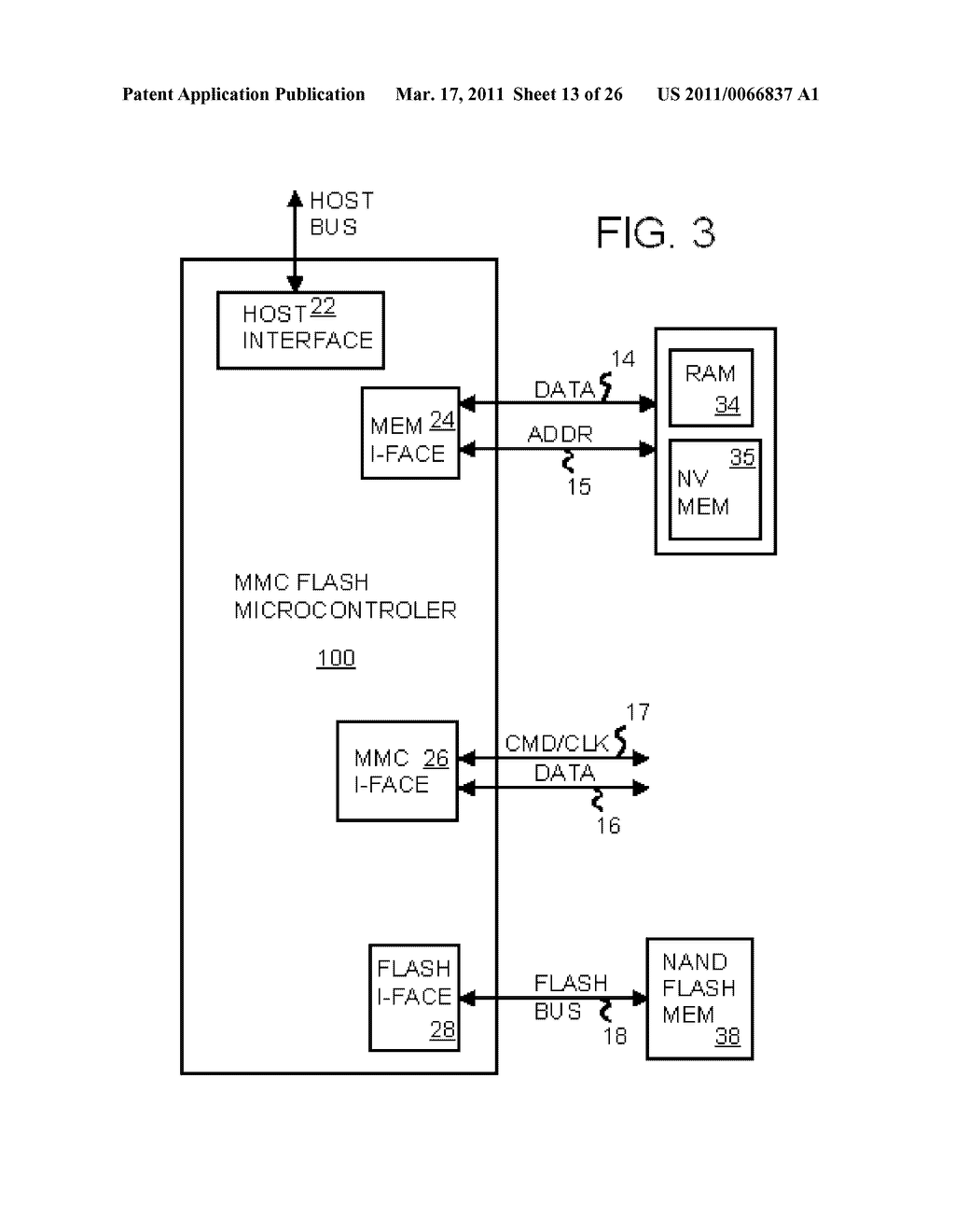 Single-Chip Flash Device with Boot Code Transfer Capability - diagram, schematic, and image 15
