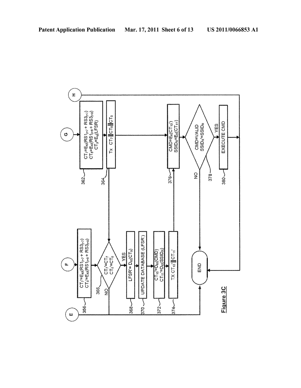 SYSTEM AND METHOD FOR SECURELY IDENTIFYING AND AUTHENTICATING DEVICES IN A SYMMETRIC ENCRYPTION SYSTEM - diagram, schematic, and image 07