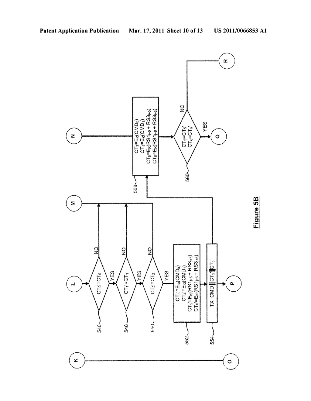 SYSTEM AND METHOD FOR SECURELY IDENTIFYING AND AUTHENTICATING DEVICES IN A SYMMETRIC ENCRYPTION SYSTEM - diagram, schematic, and image 11