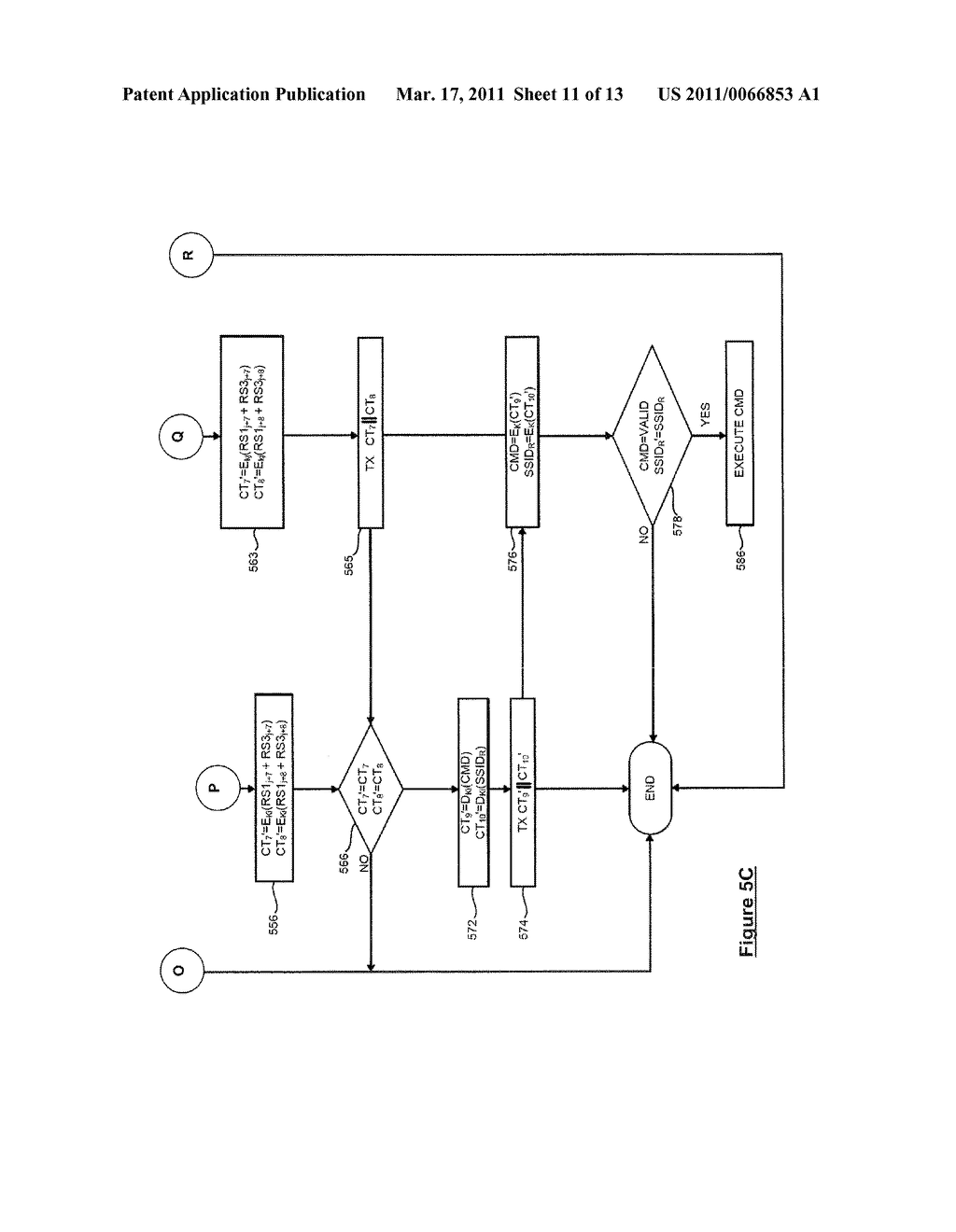 SYSTEM AND METHOD FOR SECURELY IDENTIFYING AND AUTHENTICATING DEVICES IN A SYMMETRIC ENCRYPTION SYSTEM - diagram, schematic, and image 12