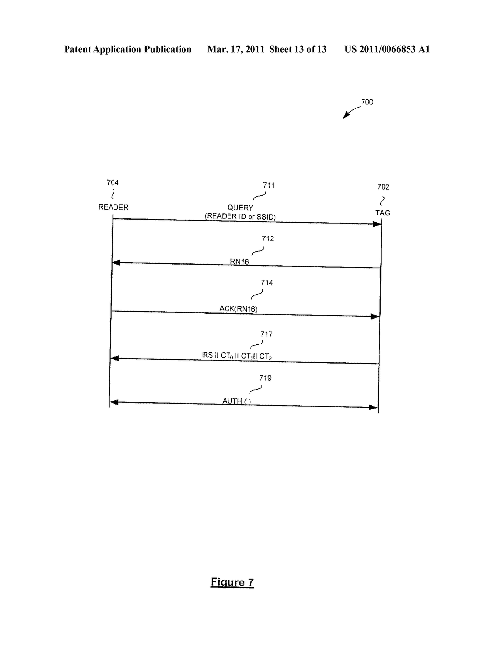 SYSTEM AND METHOD FOR SECURELY IDENTIFYING AND AUTHENTICATING DEVICES IN A SYMMETRIC ENCRYPTION SYSTEM - diagram, schematic, and image 14