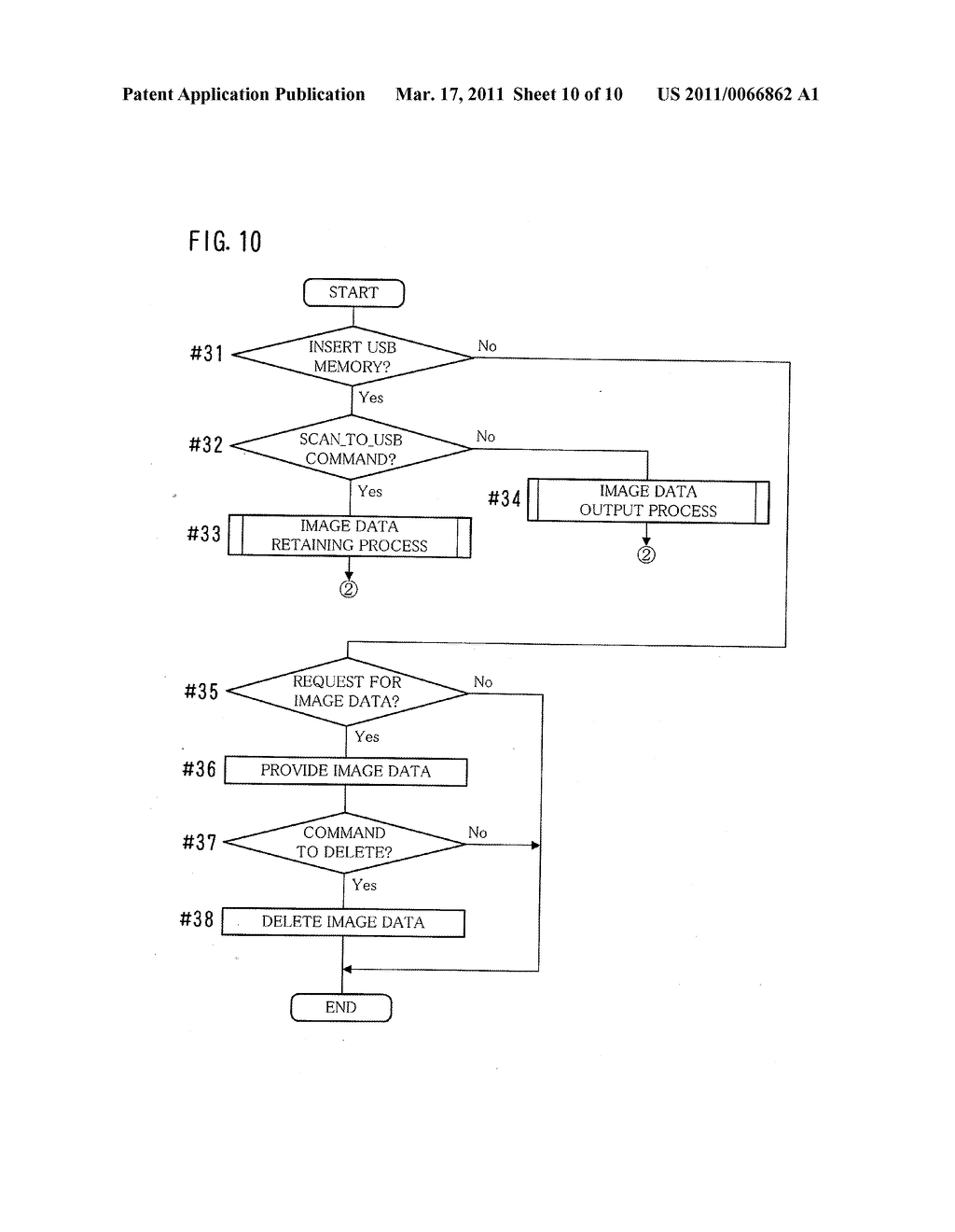 METHOD FOR OUTPUTTING IMAGE DATA, IMAGE PROCESSING APPARATUS, AND COMPUTER-READABLE STORAGE MEDIUM FOR COMPUTER PROGRAM - diagram, schematic, and image 11