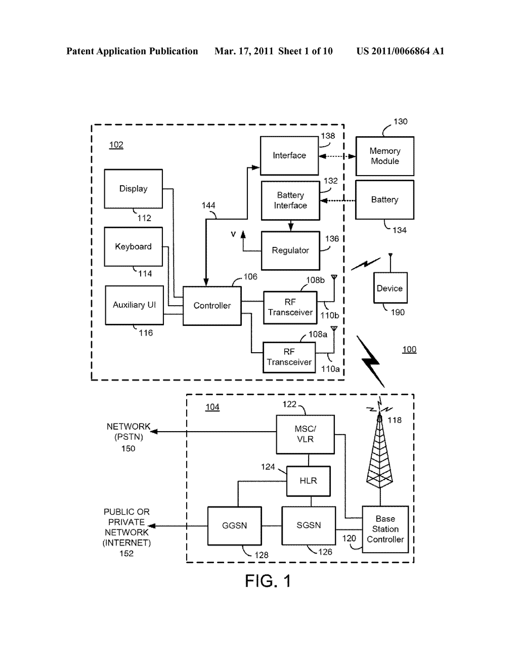 Methods And Apparatus For Use In Transferring User Data Between Two Different Mobile Communication Devices Using A Removable Memory Card - diagram, schematic, and image 02