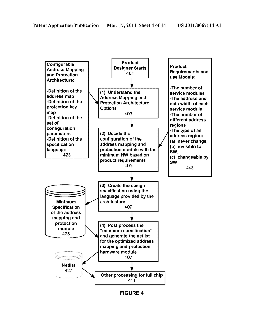 METHODS AND APPARATUS FOR A CONFIGURABLE PROTECTION ARCHITECTURE FOR ON-CHIP SYSTEMS - diagram, schematic, and image 05