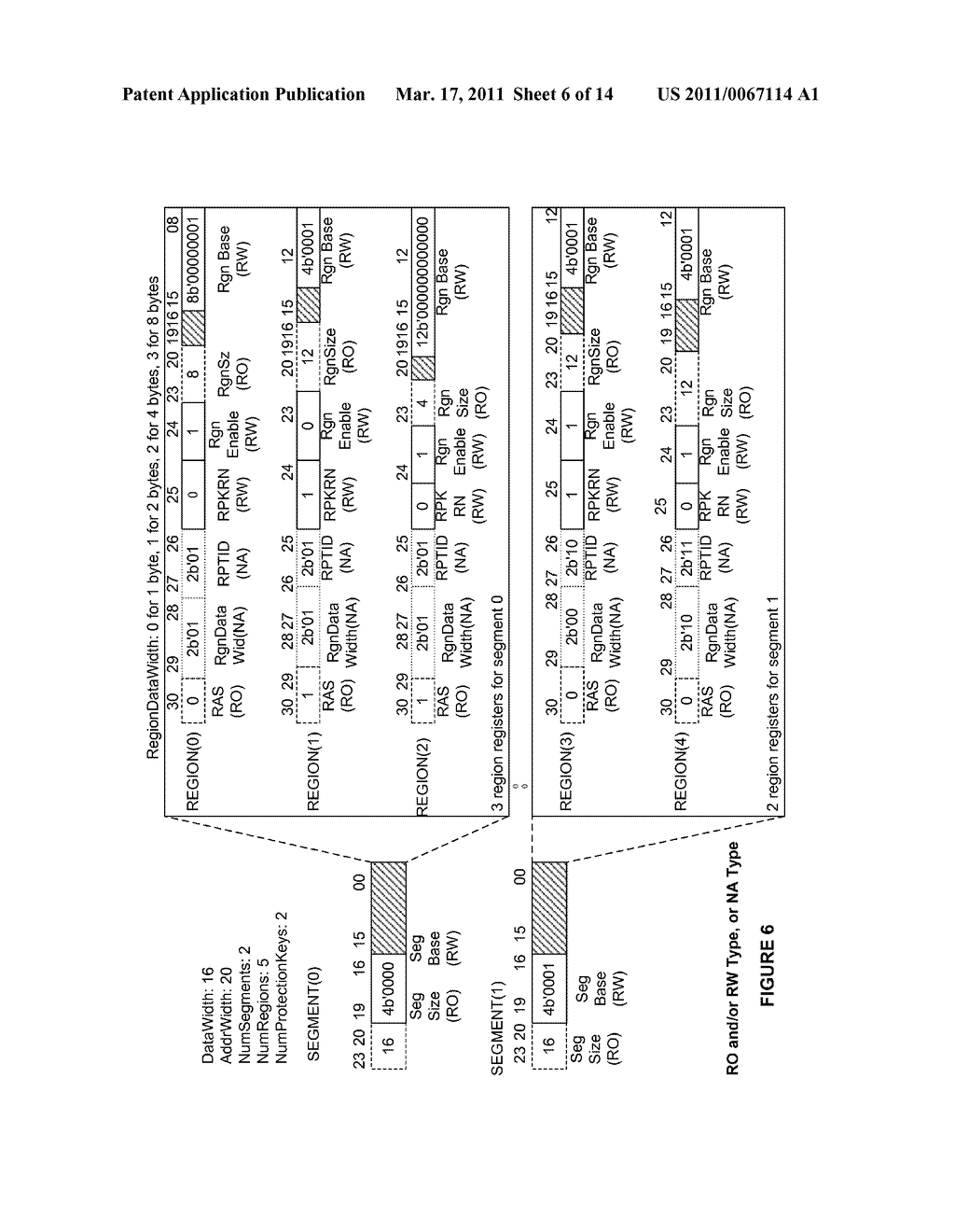 METHODS AND APPARATUS FOR A CONFIGURABLE PROTECTION ARCHITECTURE FOR ON-CHIP SYSTEMS - diagram, schematic, and image 07