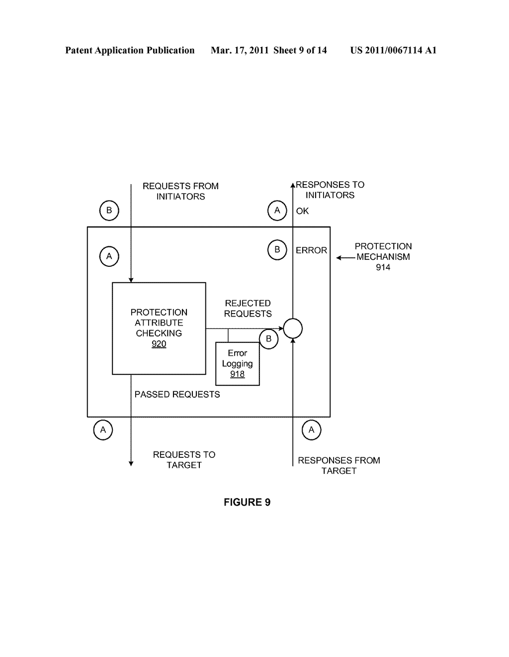METHODS AND APPARATUS FOR A CONFIGURABLE PROTECTION ARCHITECTURE FOR ON-CHIP SYSTEMS - diagram, schematic, and image 10