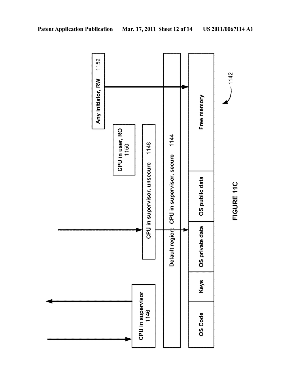 METHODS AND APPARATUS FOR A CONFIGURABLE PROTECTION ARCHITECTURE FOR ON-CHIP SYSTEMS - diagram, schematic, and image 13