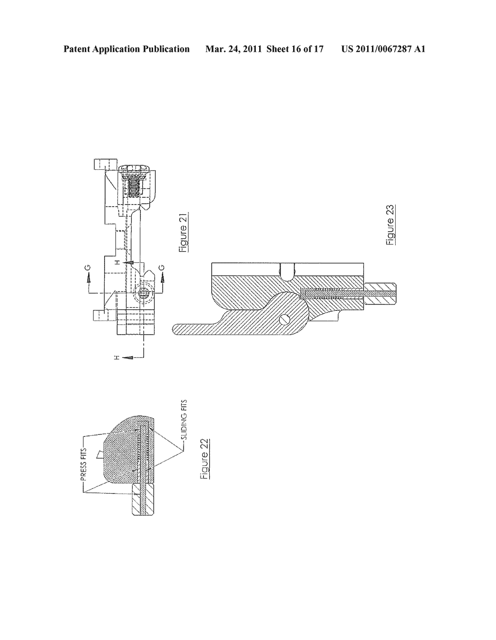 MOUNTING DEVICE FOR WEAPON - diagram, schematic, and image 17