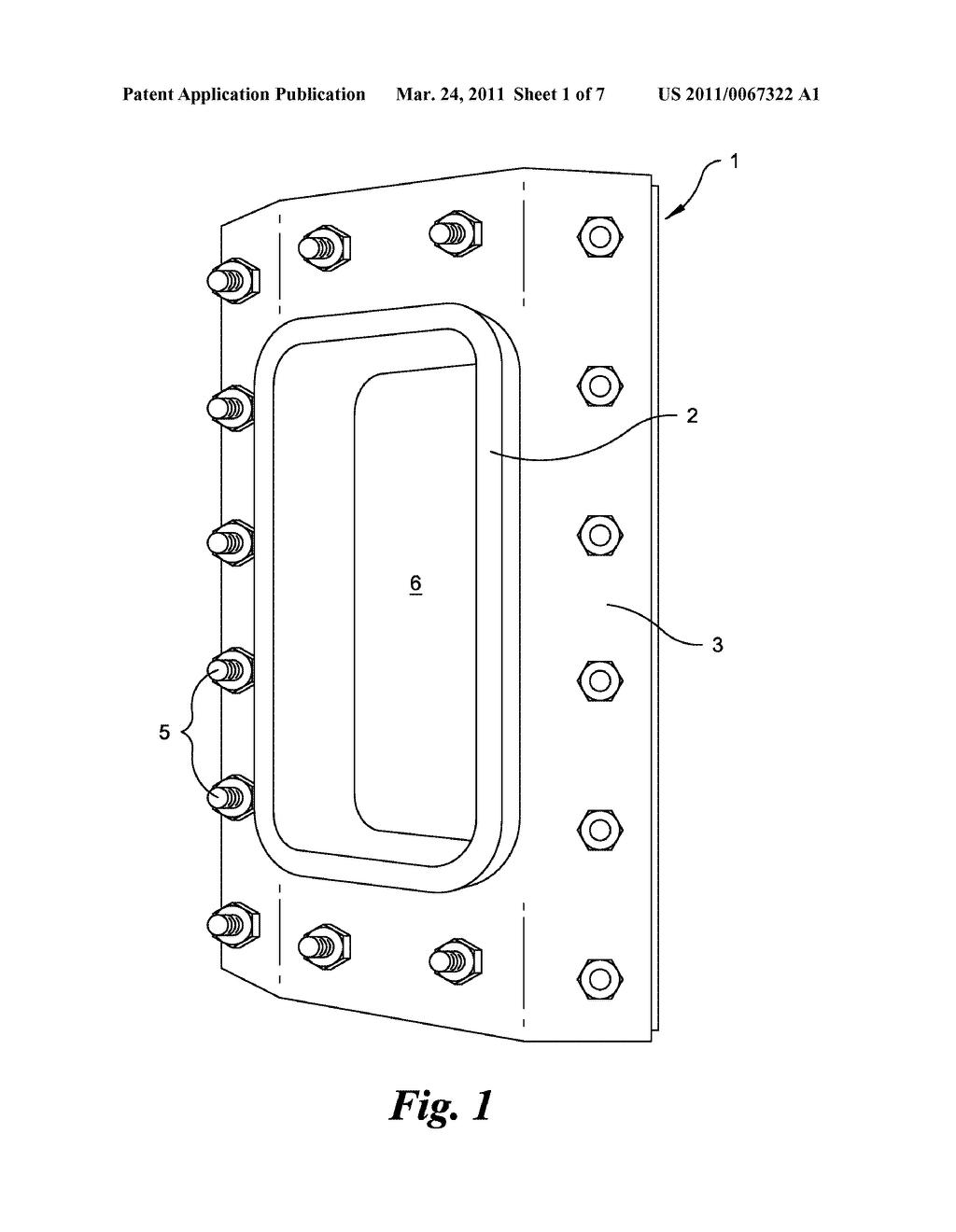 Porthole Retrofit Apparatus for a Monopole Tower - diagram