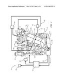 Thermally Efficient Exhaust Treatment System for an Internal Combustion Engine diagram and image