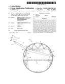 DEVICE FOR MEASURING A PATTERN OF FORCES AND MOMENTS GENERATED BY AN AIRCRAFT PROPULSION SYSTEM diagram and image