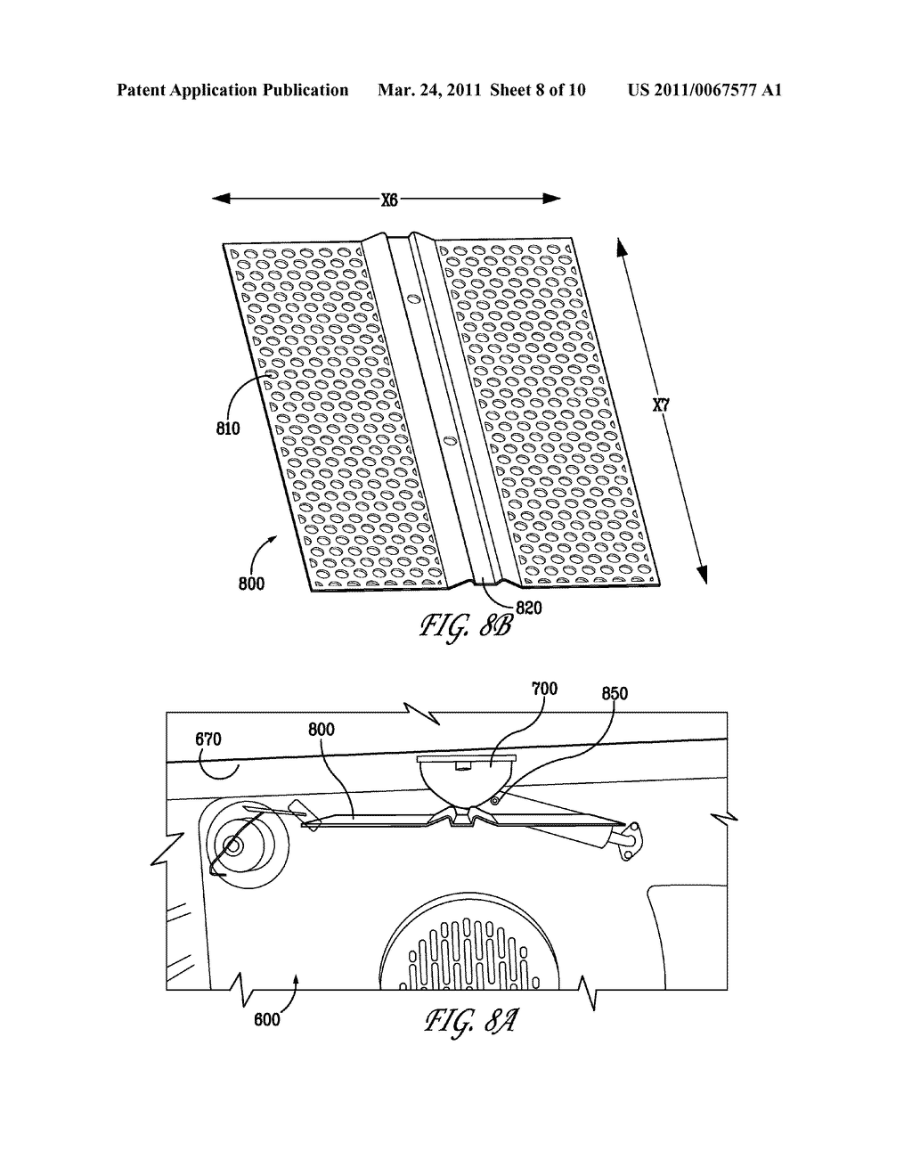 COOKTOP GRIDDLE AND BROILER FOR COOKING APPLIANCES - diagram, schematic, and image 09