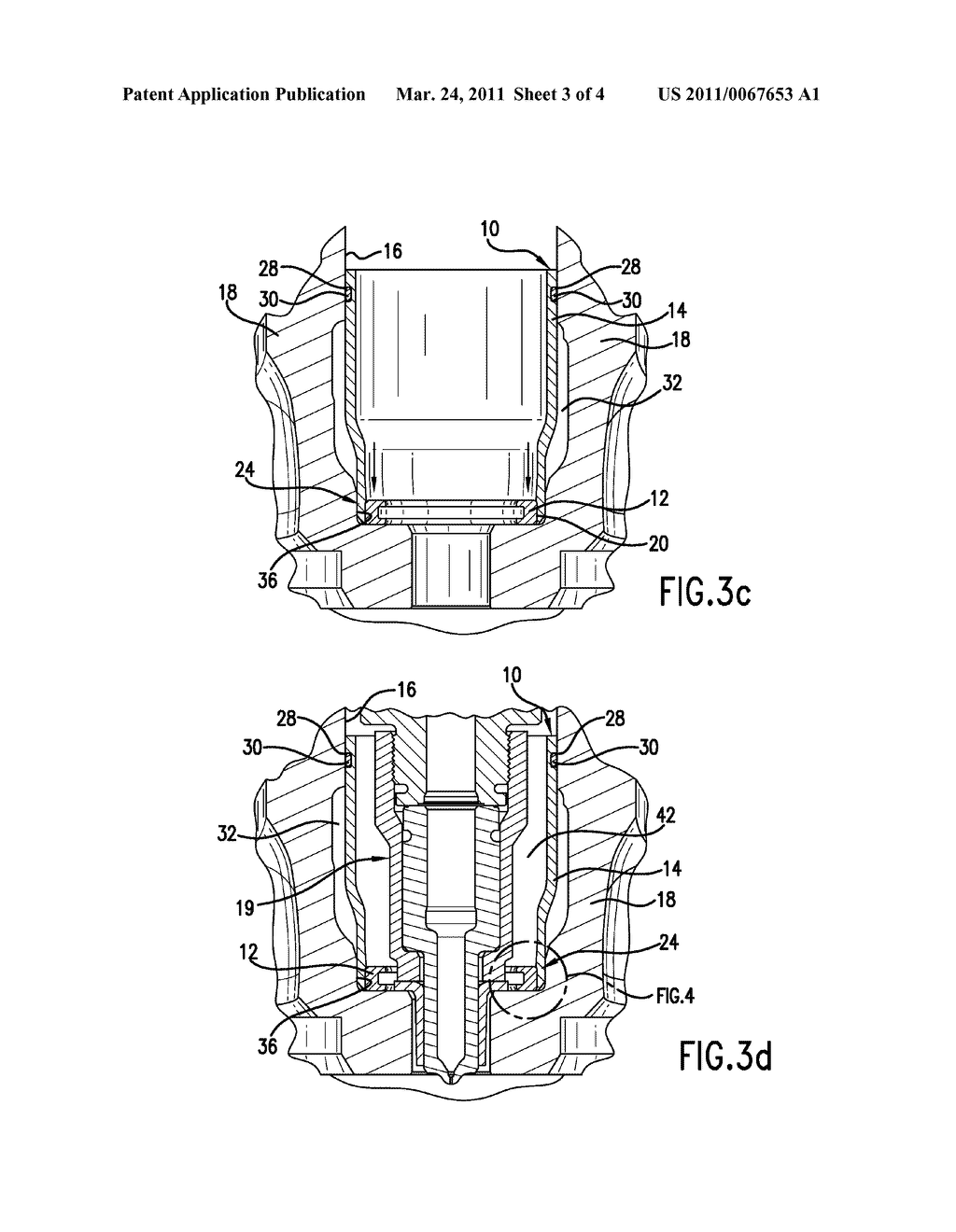 INJECTOR SEAL ASSEMBLY AND METHOD OF SEALING A COOLANT PASSAGE FROM AN INJECTOR - diagram, schematic, and image 04