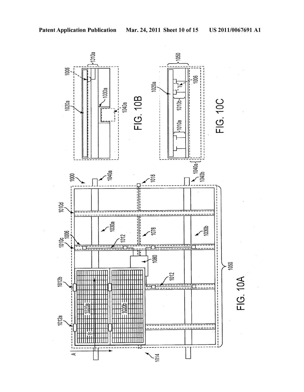 MOUNTING SYSTEM SUPPORTING SLIDABLE INSTALLATION OF A PLURALITY OF SOLAR PANELS AS A UNIT - diagram, schematic, and image 11