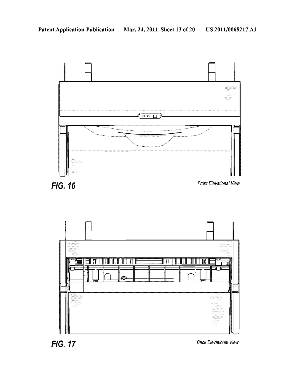 ACCOMMODATING RETRACTION OF EXCESS TOWELING BACK INTO HOUSING OF AUTOMATIC TOWEL DISPENSER - diagram, schematic, and image 14