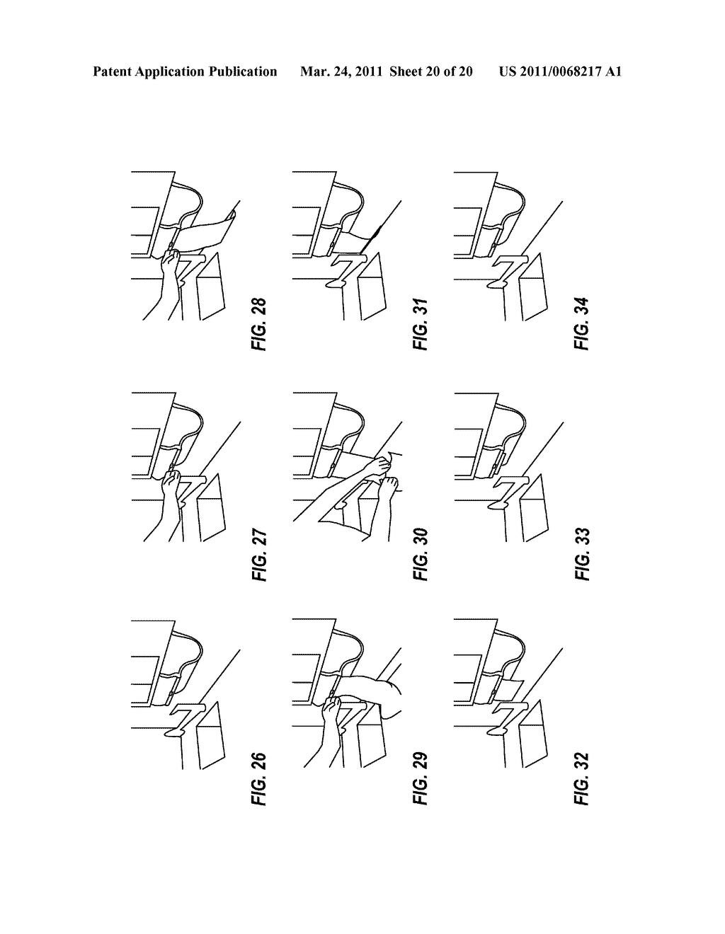 ACCOMMODATING RETRACTION OF EXCESS TOWELING BACK INTO HOUSING OF AUTOMATIC TOWEL DISPENSER - diagram, schematic, and image 21