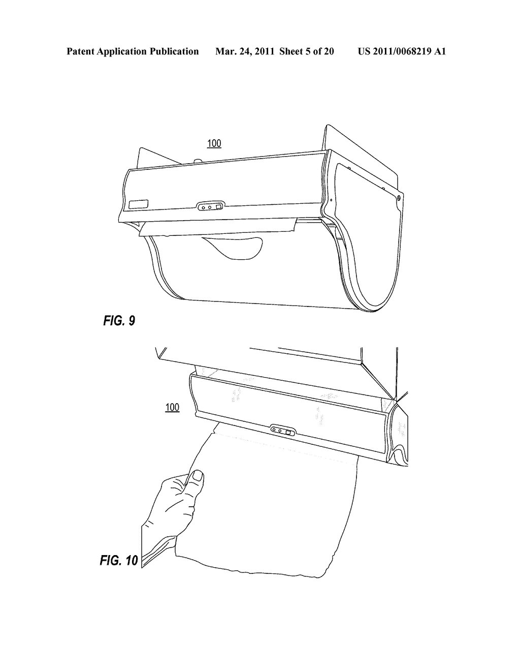 TRANSMISSION ARRANGEMENT IN AUTOMATIC TOWEL DISPENSER - diagram, schematic, and image 06